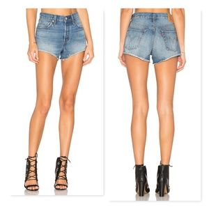 Levi's 501 cutoff shorts sz 28 jean short denim